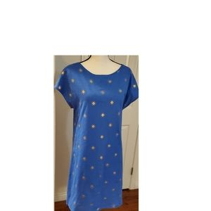 NWT Boden Cotton Blue Shift Size 8